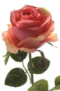 """Bilde av Kunstig Rose """"Simone"""" Rosa 45cm"""