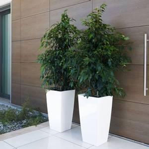 Bilde av Design Potte Piza Hvit 40cm
