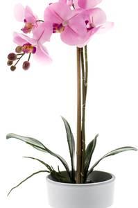 Bilde av Kunstig Orkide i Potte Rosa 65cm