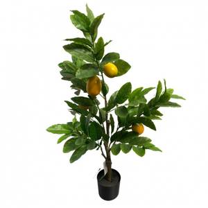 Bilde av Kunstig Sitronplante i Potte 75cm